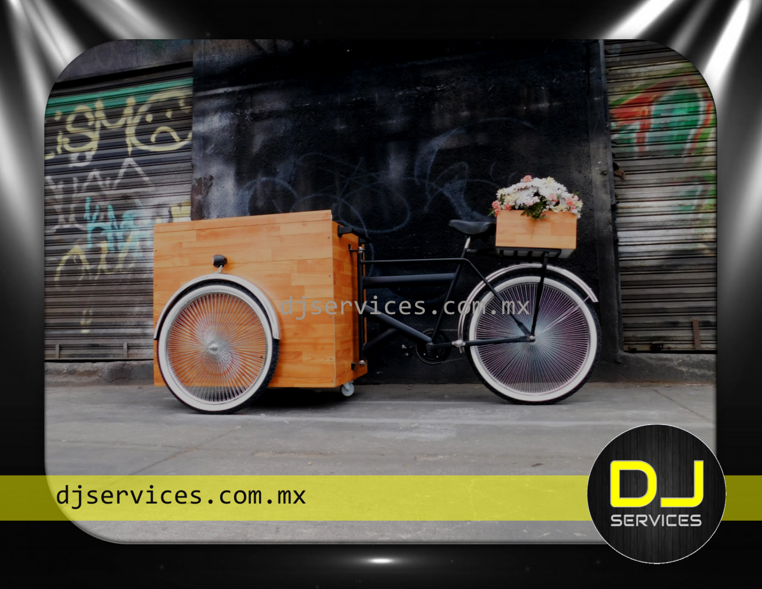 DJ Booth triciclo